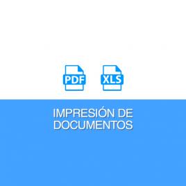 IMPRIME LAS SOLUCIONES EN PDF Y  EN XLS
