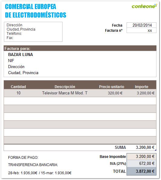 Contaone_Como_contabilizar_facturas_rectificativas_e_iva